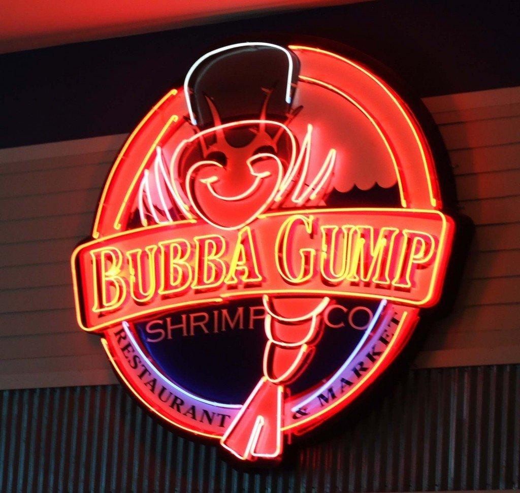 Great brand experiences. The Bubba Gump Shrimp Co Logo