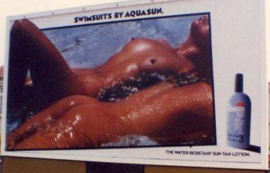 Great Outdoor marketing communication. Aquasun - UK