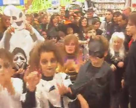 Spooky goings on at Auchan France