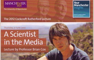 Professor Brian Cox - A Scientist in the Media