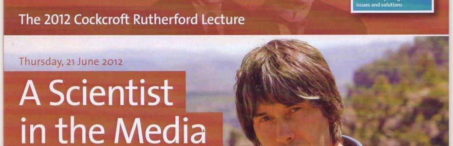Professor Brian Cox - A Scientist in the Media