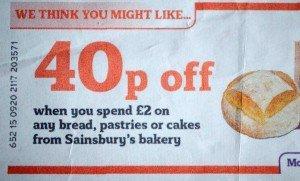 Sainsbury's promotion