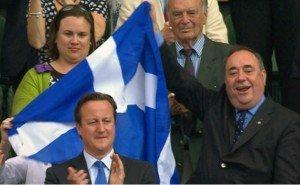 Salmond vs Cameron, political branding figureheads