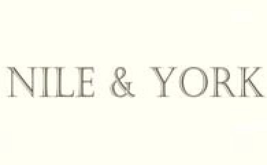 Nile and York logo | Designer textile brand