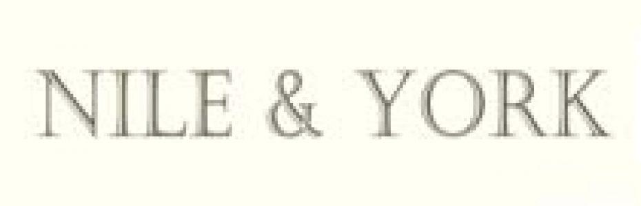 Nile and York logo | Designer textile brand