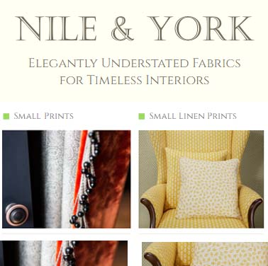 Interior Design Services Marketing | Nile and York