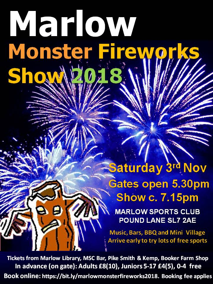 Marlow Monster Fireworks Show