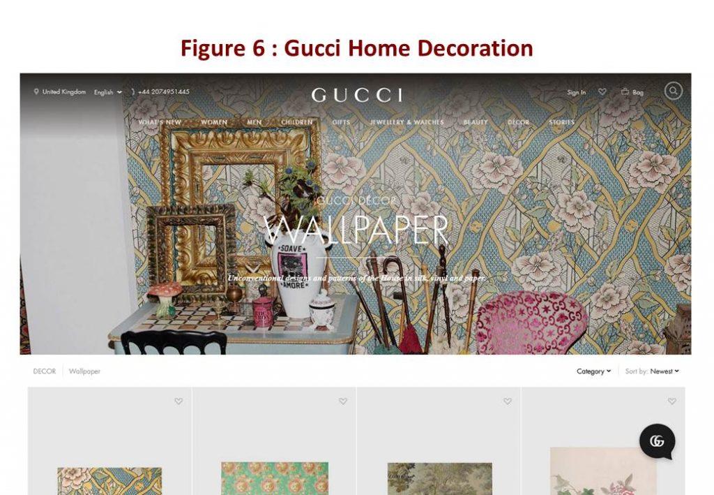 Gucci Home Decoration