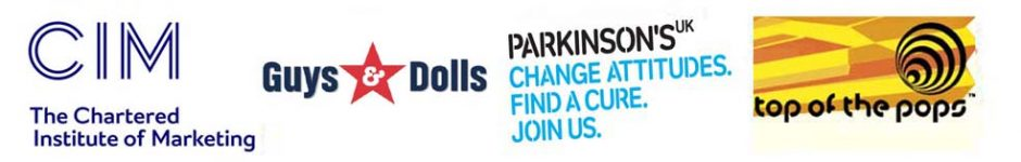 The Marketing Directors Marketing Consultancy Clients: CIM, Guys & Dolls, Parkinsons, BBC